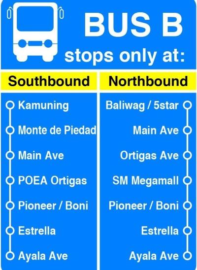 MMDA BUs SegregationB