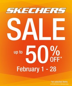 Skechers Sale Feb 2013