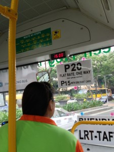 Green Frog Bus Fare