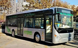 Green Frog Hybrid Bus Philippines