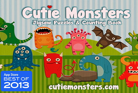 Cutie Mini Monsters Counting App Review