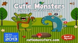 Cutie Mini Monsters Counting App