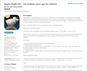 Nighty Night! HD - Free App