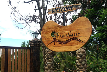 Rapha Valley: Negros Best Vegetarian Restaurant and Cafe