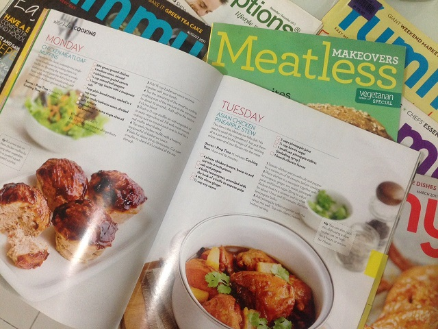 Recipe Ideas from Magazines
