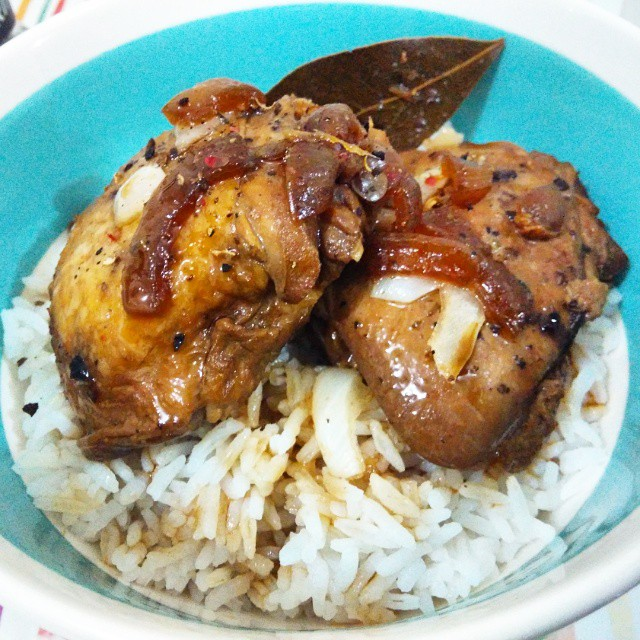 Slow-cooked Chicken Adobo